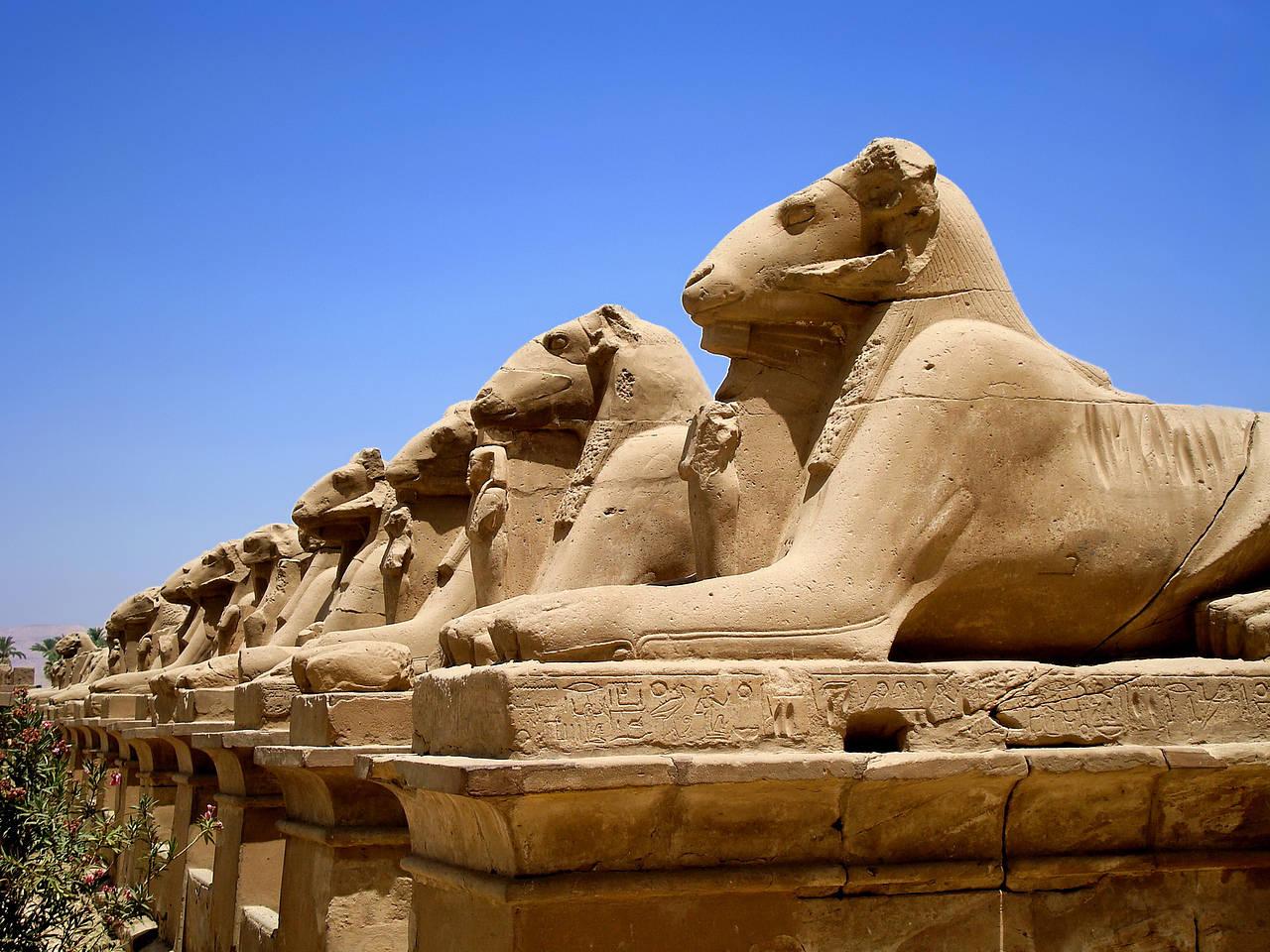 tempel aus ägypten